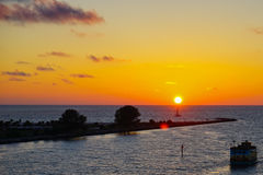 佛罗里达太阳集合和海岛 免版税图库摄影