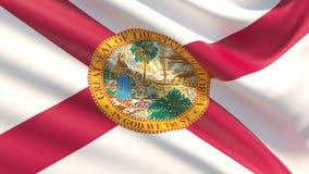 佛罗里达州旗子 标记状态美国 库存图片