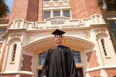 佛罗里达州立大学毕业生 免版税库存照片