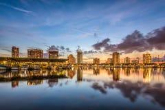佛罗里达彼得斯堡st 免版税库存照片