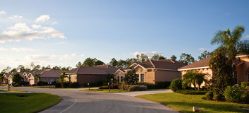 佛罗里达房子大热带 免版税图库摄影