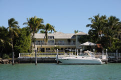 佛罗里达房子豪华 库存照片