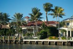 佛罗里达房子 免版税库存图片