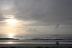 佛罗里达早晨跑步 图库摄影