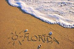 佛罗里达标志 库存图片