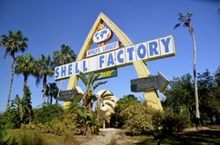 佛罗里达海壳工厂 库存图片