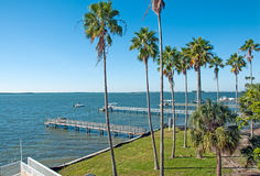 佛罗里达海岸线 免版税库存图片