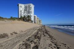 佛罗里达海滩恢复项目 库存照片