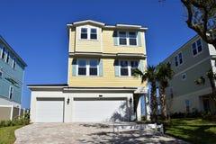 佛罗里达海滩房地产 免版税库存照片