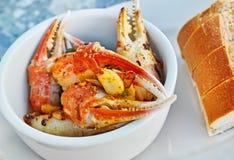 从佛罗里达的新鲜的龙虾爪 库存照片