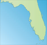佛罗里达美国 向量例证