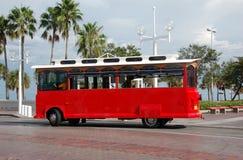 佛罗里达观光的台车 库存图片