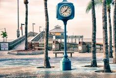 佛罗里达迈尔斯堡码头 免版税图库摄影