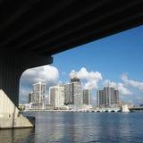 佛罗里达迈阿密地平线美国 免版税库存照片