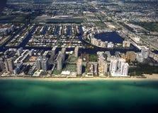 佛罗里达迈阿密形式空气 免版税库存图片