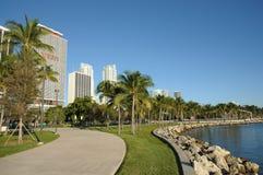 佛罗里达迈阿密散步 免版税库存照片