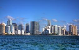 佛罗里达hdr迈阿密地平线 免版税库存图片