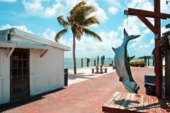 佛罗里达islamorada关键字 免版税库存照片