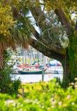 佛罗里达pensacola船 库存照片