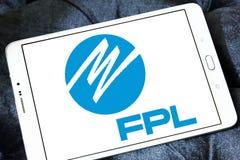 佛罗里达Power & Light, FPL, Company商标 库存图片