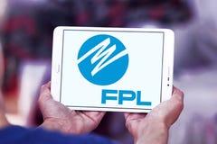 佛罗里达Power & Light, FPL, Company商标 免版税库存图片