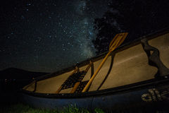 佛蒙特银河 库存照片