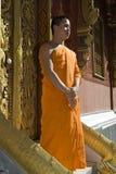 佛陀老挝luang修士prabang 免版税图库摄影