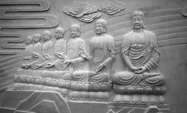 佛陀雕塑 库存照片