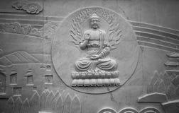 佛陀雕塑 免版税库存照片