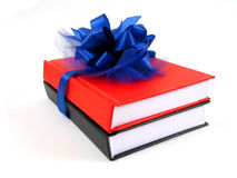 作为书礼品水平的视图 免版税图库摄影