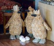 作为企鹅的三个圣人 库存图片