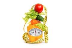 作为健康食物的饮食的概念 免版税图库摄影