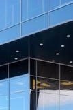 作为公司本体的标志的现代建筑学 图库摄影