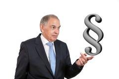 作为官员、代表、代理或者推销员的人 免版税库存照片