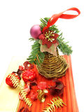 作为干的圣诞节装饰工厂 免版税库存照片