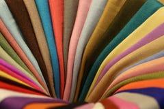 作为彩虹组成的组织色的和平 库存图片
