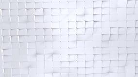 作为意想不到的安心的简单的低多3D表面 纯净的白色灰色多角形软的几何低多背景  充分4K 向量例证