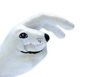 作为手画兔子白色 免版税库存照片