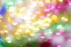 作为抽象背景的明亮的多彩多姿的斑点 库存图片