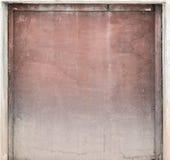 作为抽象背景的老被绘的胶合板 免版税库存图片