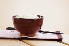 作为日本全国食物的米 库存照片