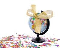 作为概念礼品世界 免版税库存照片