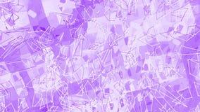 作为清楚地背景的紫罗兰色或紫色低多挥动的表面 紫罗兰色几何振动的环境或搏动 皇族释放例证
