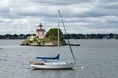 作为灯塔的风暴清洁引导水手 免版税图库摄影