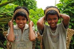 作为男孩新印度的搬运程序 图库摄影