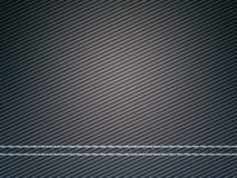 作为碳纤维有用被缝的纹理 免版税图库摄影