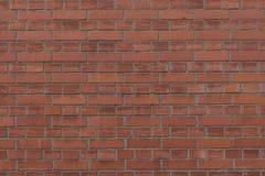 作为背景、纹理或者样式的新和现代砖墙 红色和橙色砖墙 海报或盖子 库存照片