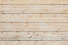 作为背景或背景的木水平的没有漆的委员会 免版税图库摄影