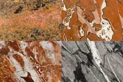作为背景的五颜六色的自然石纹理 库存照片