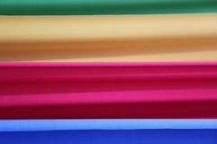 作为背景的四种充满活力的颜色 图库摄影